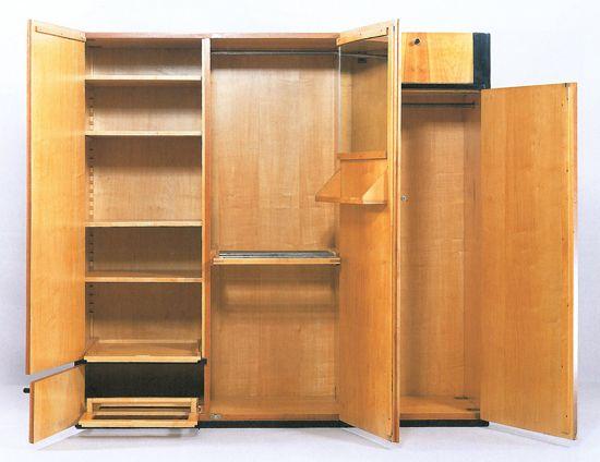 Marcel Breuer Wardrobe Image courtesy of Neue Galerie New