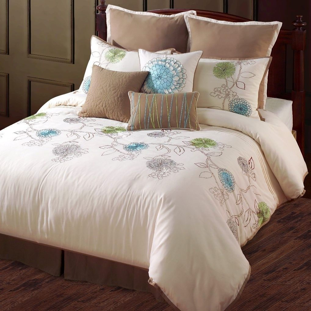 Turquoise Bedding Hallmart Collectibles Spring Flower