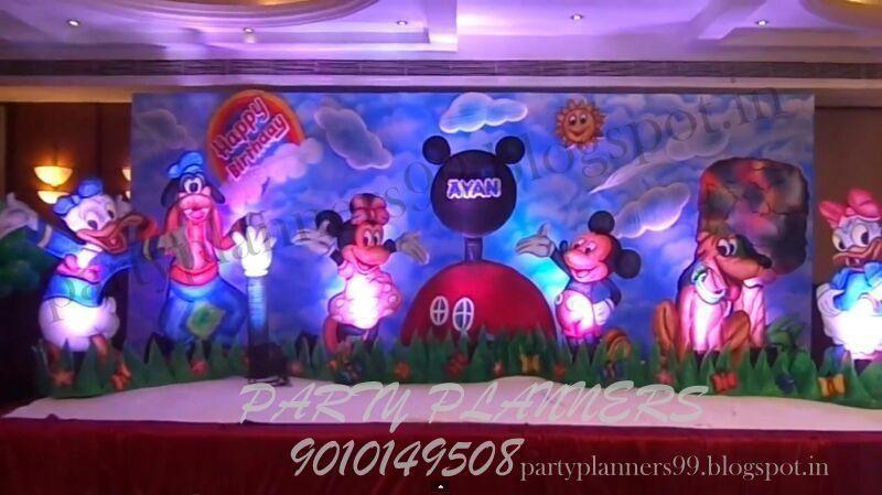 Birthday Party Decorations In Hyderabadbirthday DecorationsCradle CeremonyParty PlannersBalloon