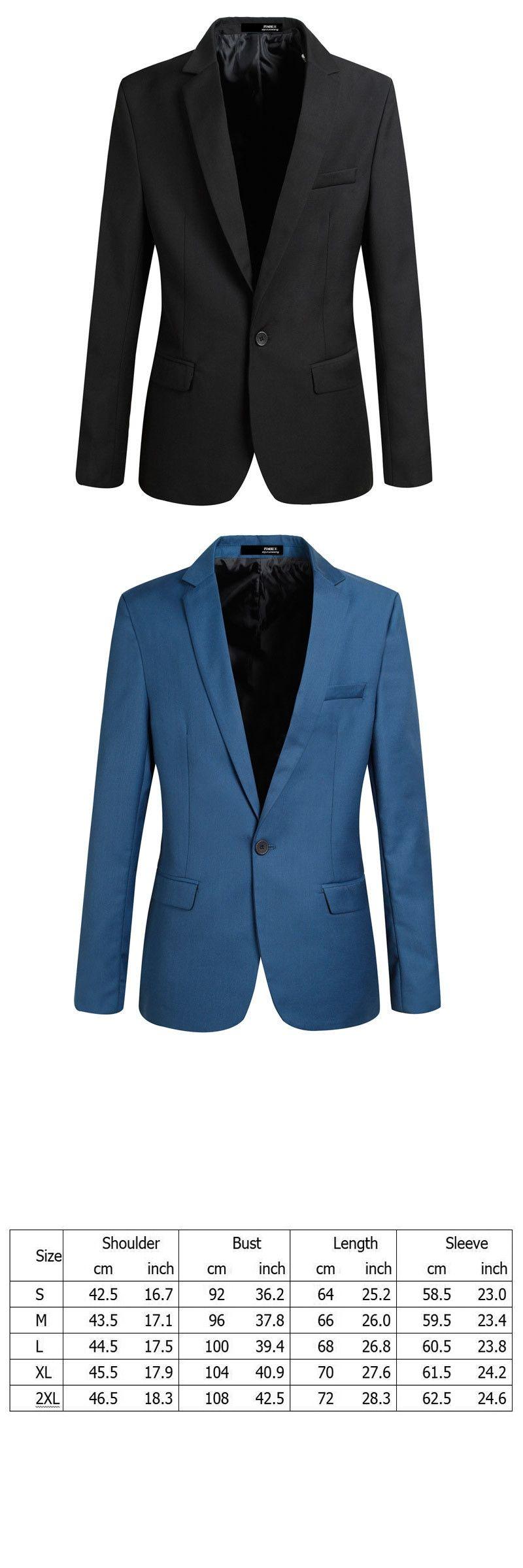 Men\'s Suit Jacket Wedding Costume Blazer Masculino Slim Paryt Suits ...