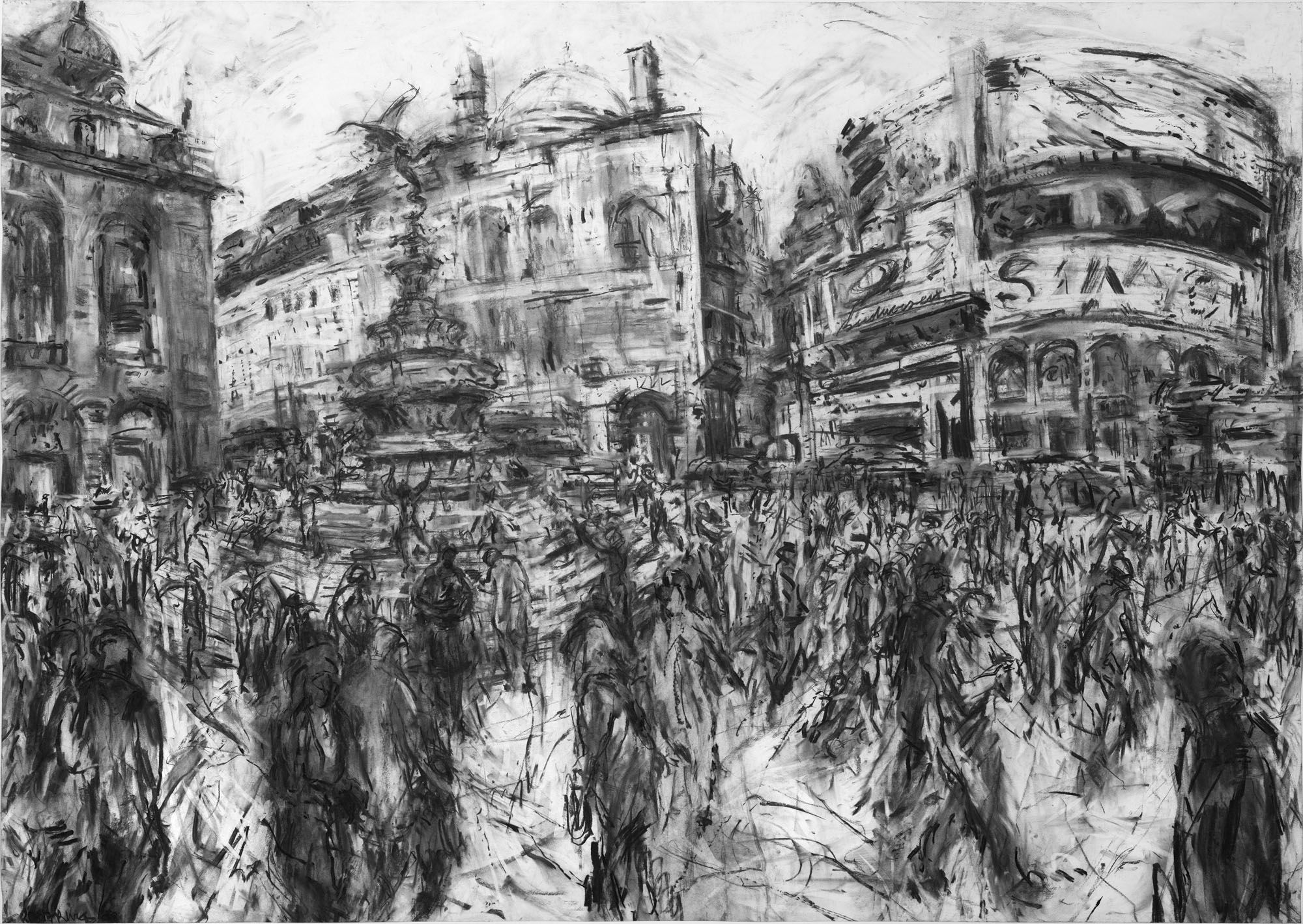 Piccadilly Circus Web Jeanette Barnes Drawing In 2019 Drawings Art Architecture