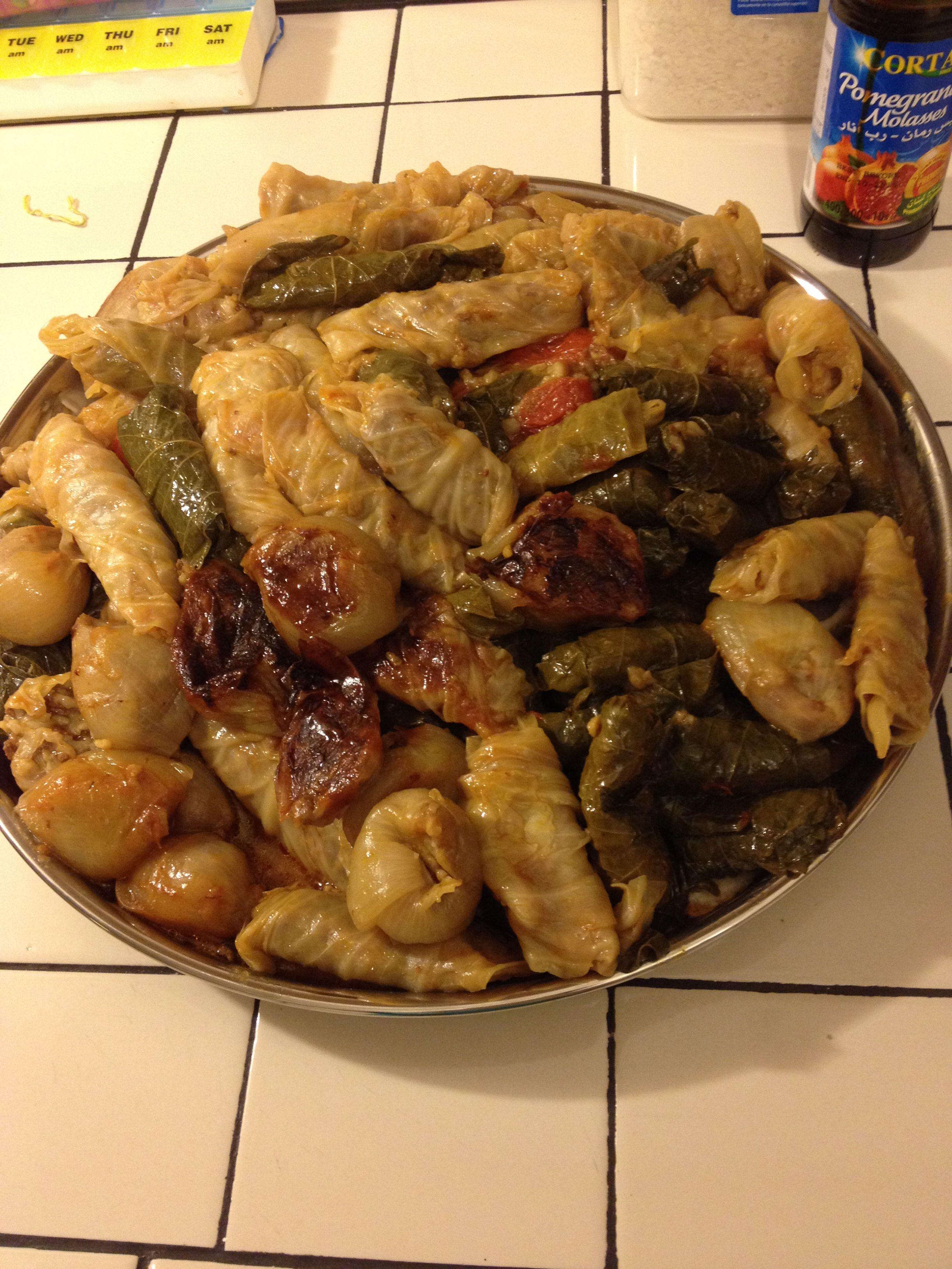 Iraqi Dolma One Of The Yummiest Things On Earth Preparation Time Consuming But Worth It Kurdish Food Iraqi Cuisine Iraqi Dolma Recipe