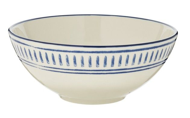 by sainsburys morrocan blue dash cereal bowl | Store:-Saintsbury\'s ...