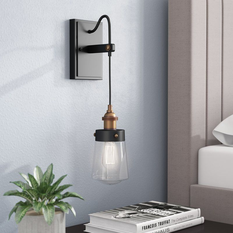 Gough 1 Light Armed Sconce Sconces Wall Sconces Wall