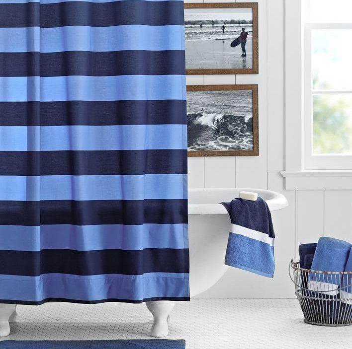 nautica Shower curtain | Nautical Home Decor | Pinterest