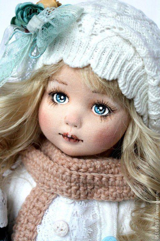 Купить кукла текстильная - кукла ручной работы, кукла в подарок, кукла текстильная, кукла, ткань