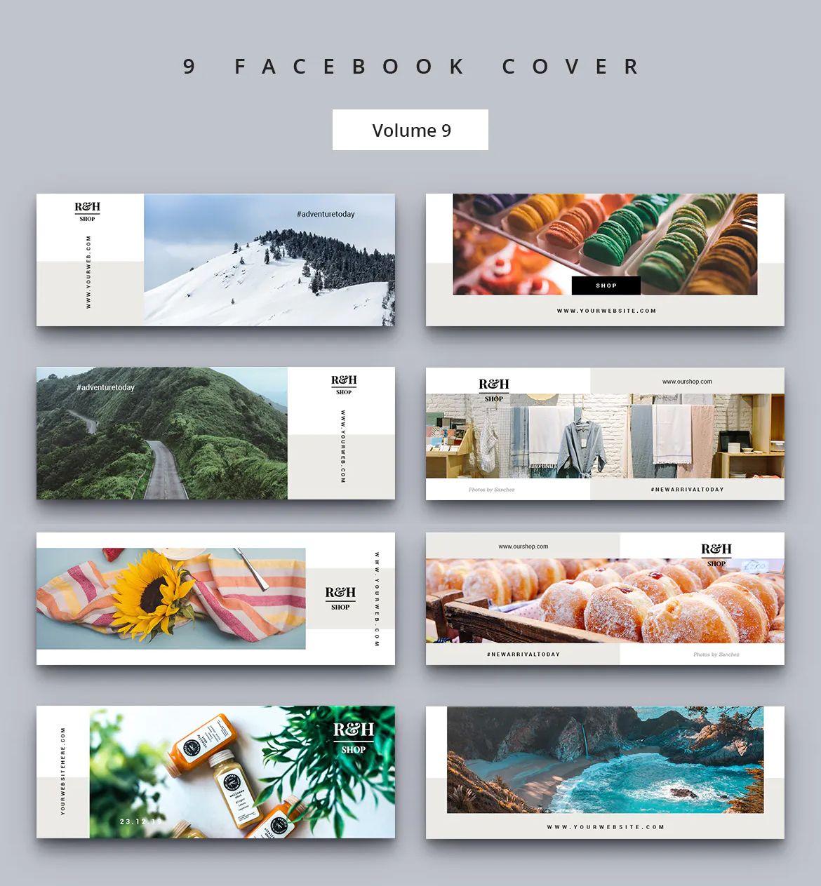 Facebook cover design psd in 2020 facebook cover design
