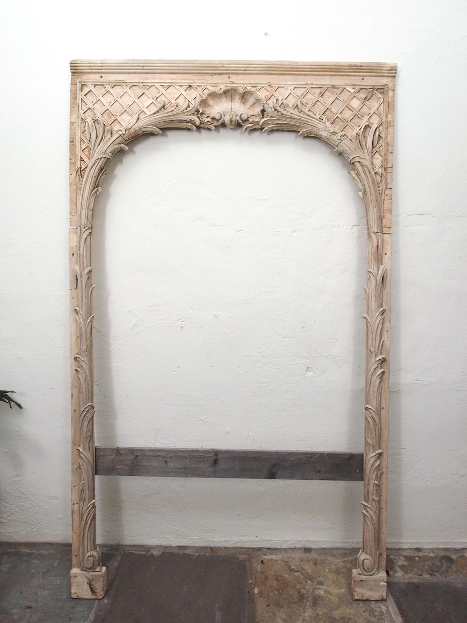 Pair Grand Carved Wood Frames New Orleans Antiques Wood Frame