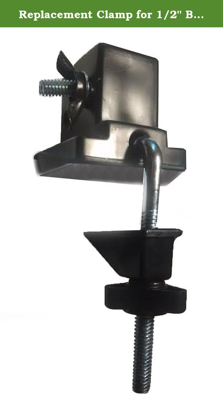 Replacement Clamp For 1 2 Base Swing Arm Lamps Simple Plastic And Metal Clamp Accommodates All Swing Arm Lamps With An Unwired 1 2 Swing Arm Lamp Lamp Clamp