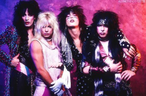 Mötley Crüe // Album Photoshoots 80's obsessed in 2020