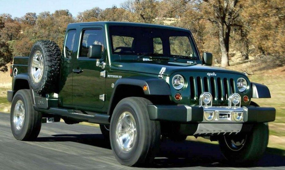2018 jeep gladiator concept review based on wrangler company new