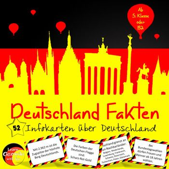 facts about germany taskcards deutschlandfakten karten infos und wissenswertes ber. Black Bedroom Furniture Sets. Home Design Ideas