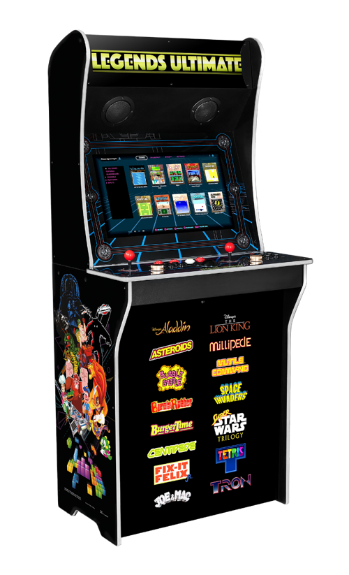 Pr Legends Ultimate The Market S Most Full Featured Home Arcade Machine Is Back Armchair Arcade Arcade Machine Arcade Retro Arcade Machine