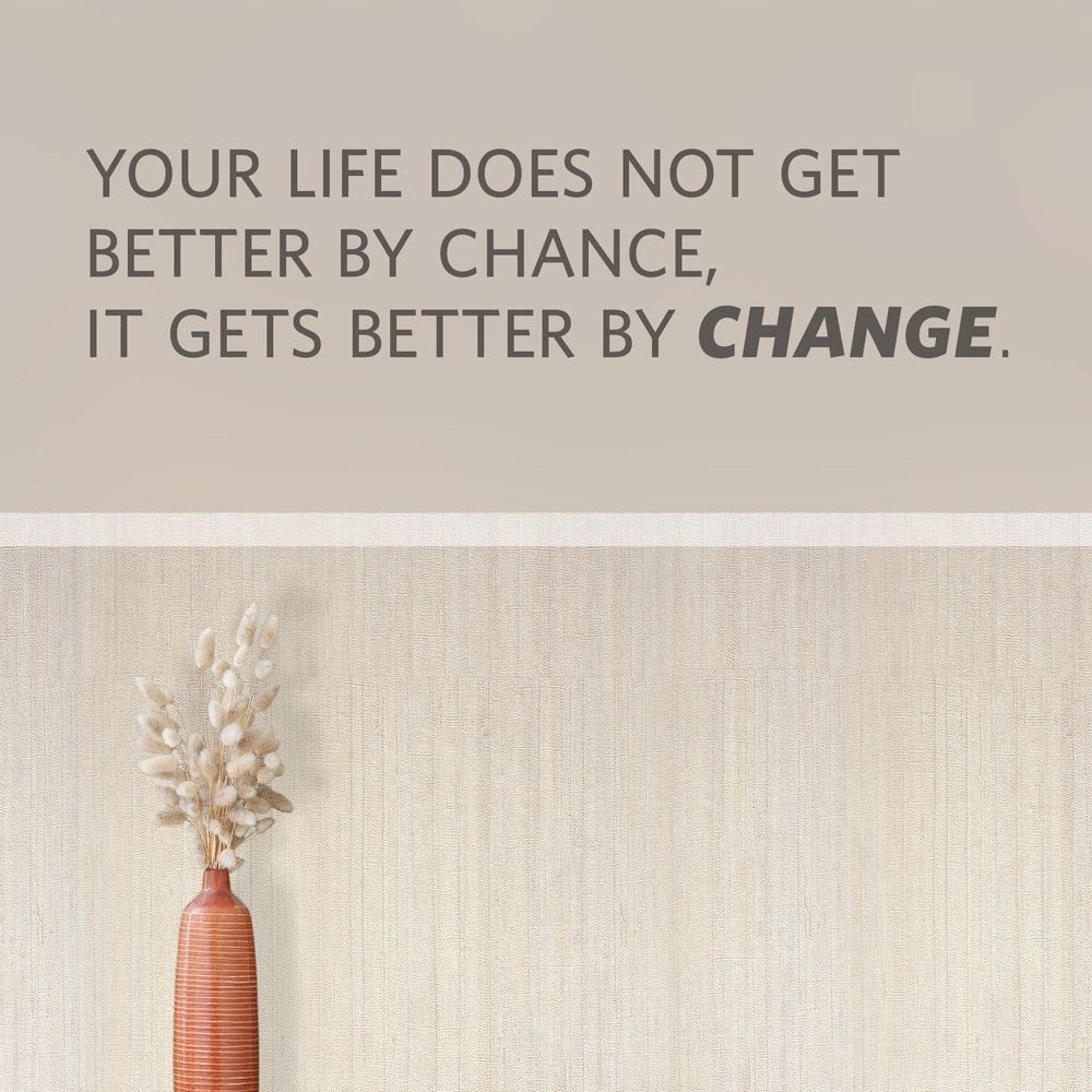 Better By Change Wall Quote Decal  Change Quote | Etsy
