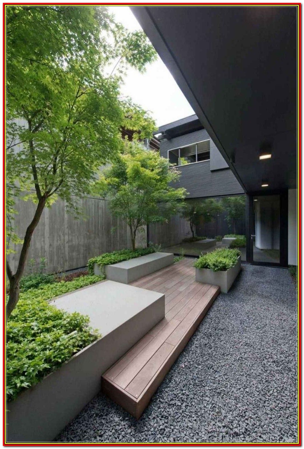 Courtyard Landscape- Landscaping and Lawn Maintenance  ** Read