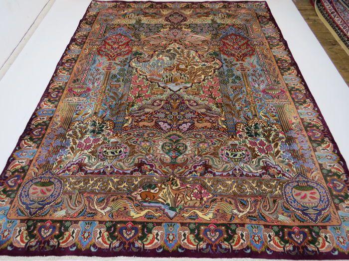 Reinigen Perzisch Tapijt : Prachtig mooi perzisch tapijt beelden kashmar iran cm