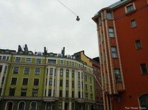 Töölö, talot, värit, Helsinki