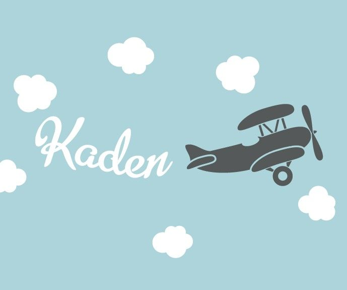 Pin By Ricoh Law On Illustrator Vinyl Wall Decals Nursery Airplanes Wall Decals Nursery Wall Decals