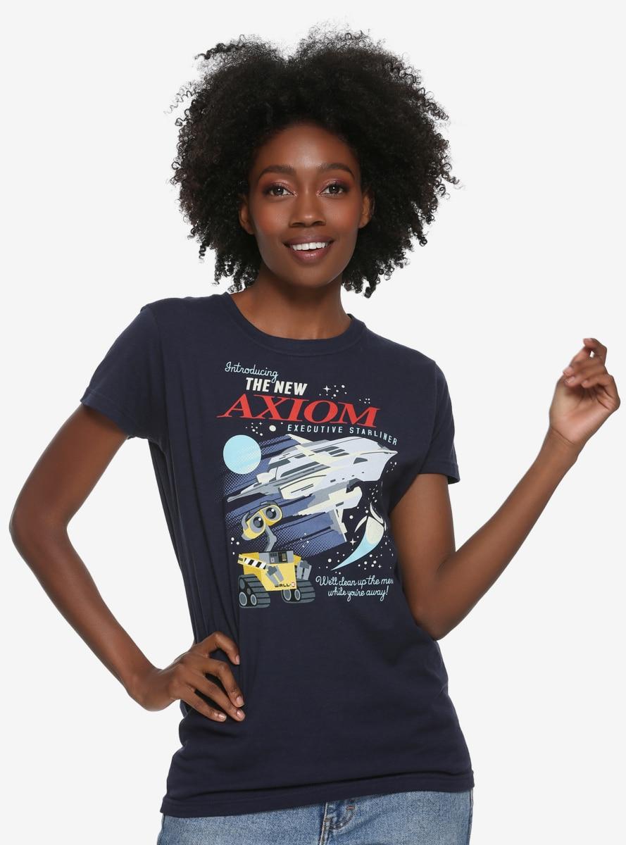 a2a93bc73472d7 Disney Pixar Wall-E Axiom Womens T-Shirt - BoxLunch Exclusive in ...