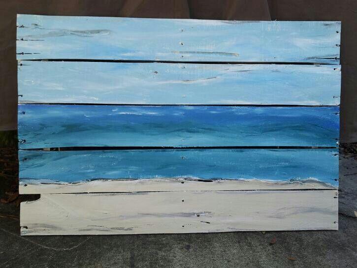 Epingle Par Amy Sur Creatives Deco Bord De Mer Peinture Sur Bois Peinture