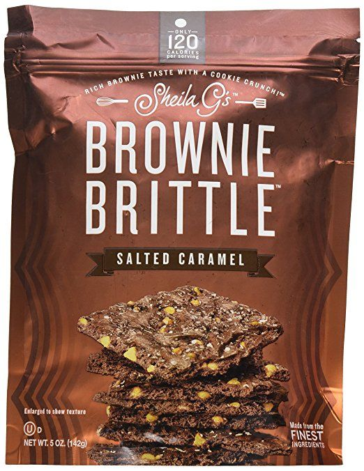 Salted Caramel Brownie Brittle, 5 oz