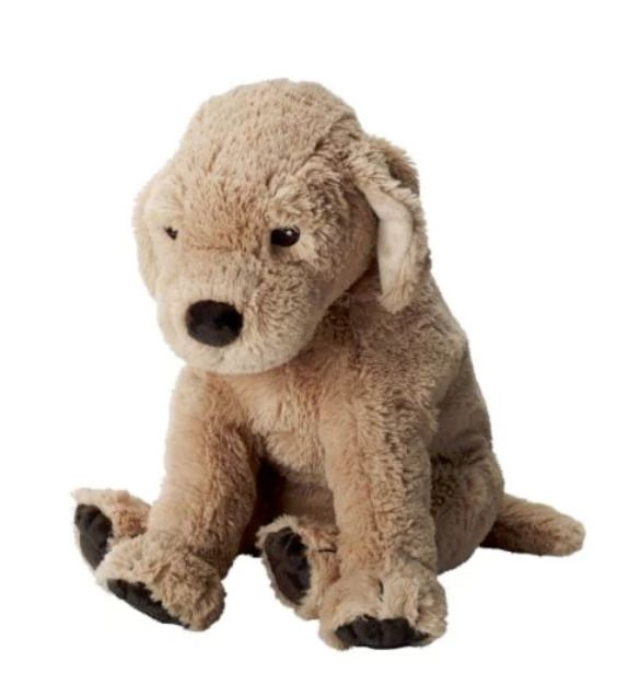 Ikea Gosig Golden Soft Toy Big Dog Kids Soft Puppy Best Give 40cm