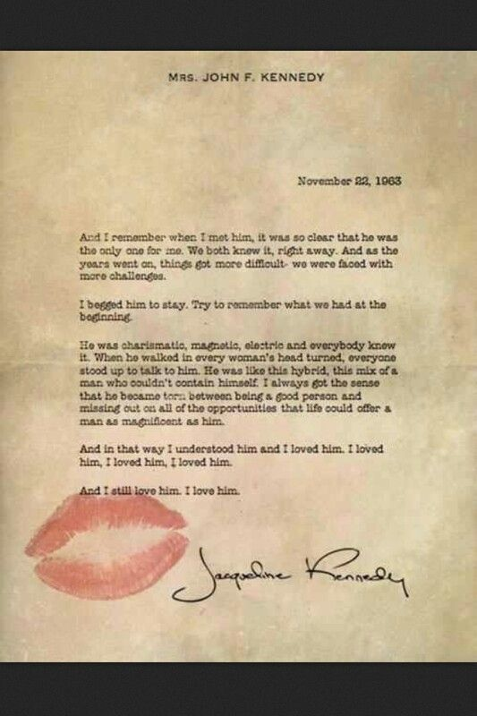 Jackie Kennedy monologue-used in the National Anthem video by Lana Del Rey.