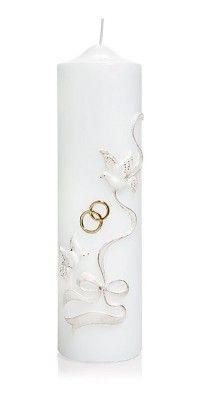 Hochzeitskerze Nr 2 Hochzeitskerze Kerzen Und Stumpenkerzen