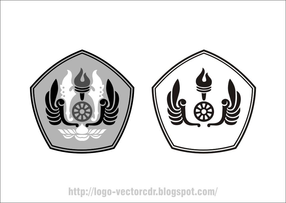 Logo UNPAD Hitam Putih Vector format cdr Hitam, Adobe