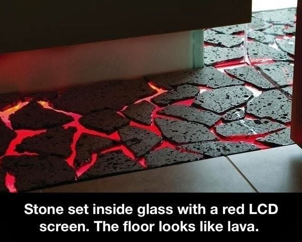 The Floor Is Lava The Floor Is Lava Cool Inventions Lava Floor
