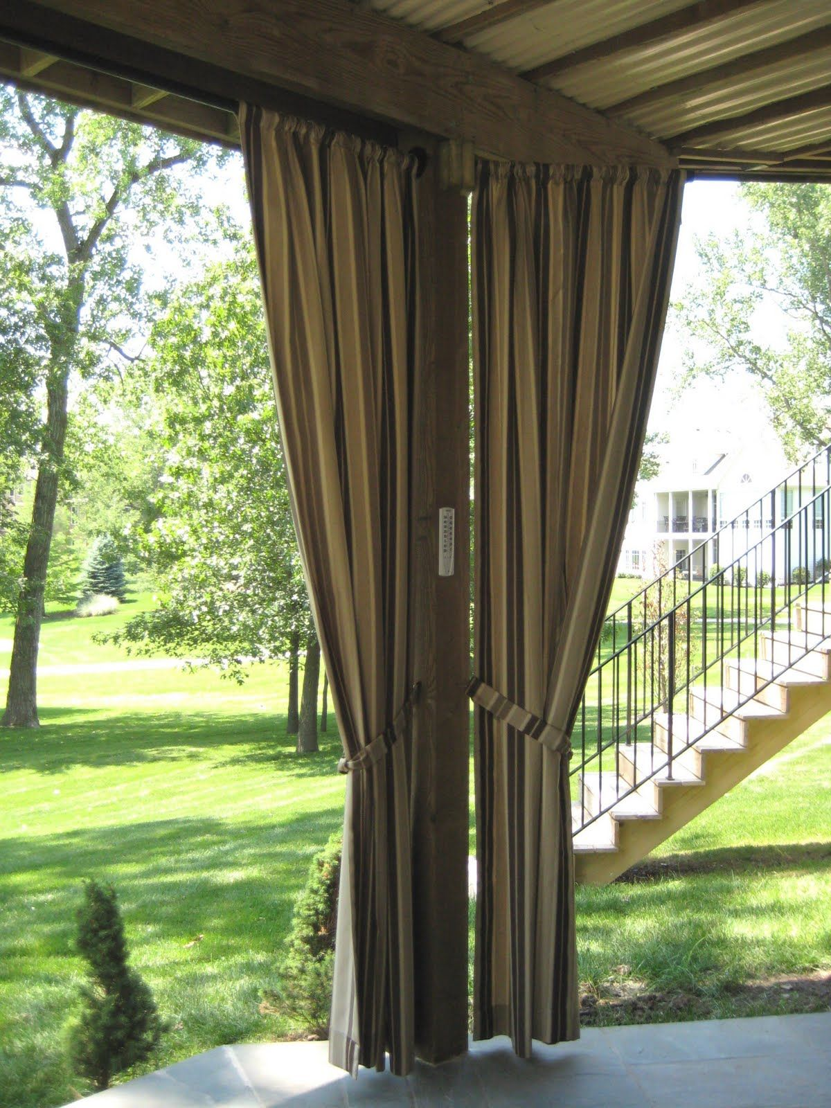 Outdoor Curtains Vitalia Inc Decorate With Outdoor Curtains And Draperies Outdoor Ideas