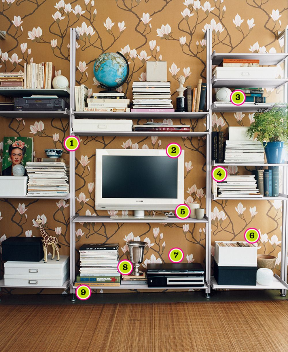 How To Organize Your Media Center