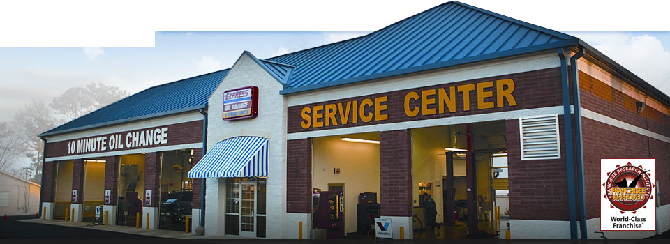 Express Oil change and service center. One word, BRILLIANT