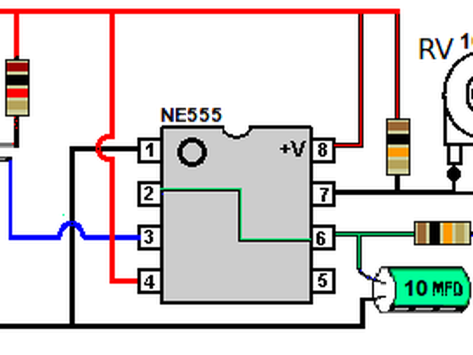 Circuito Led Intermitente : Proyecto leds intermitentes elektronıl pinterest