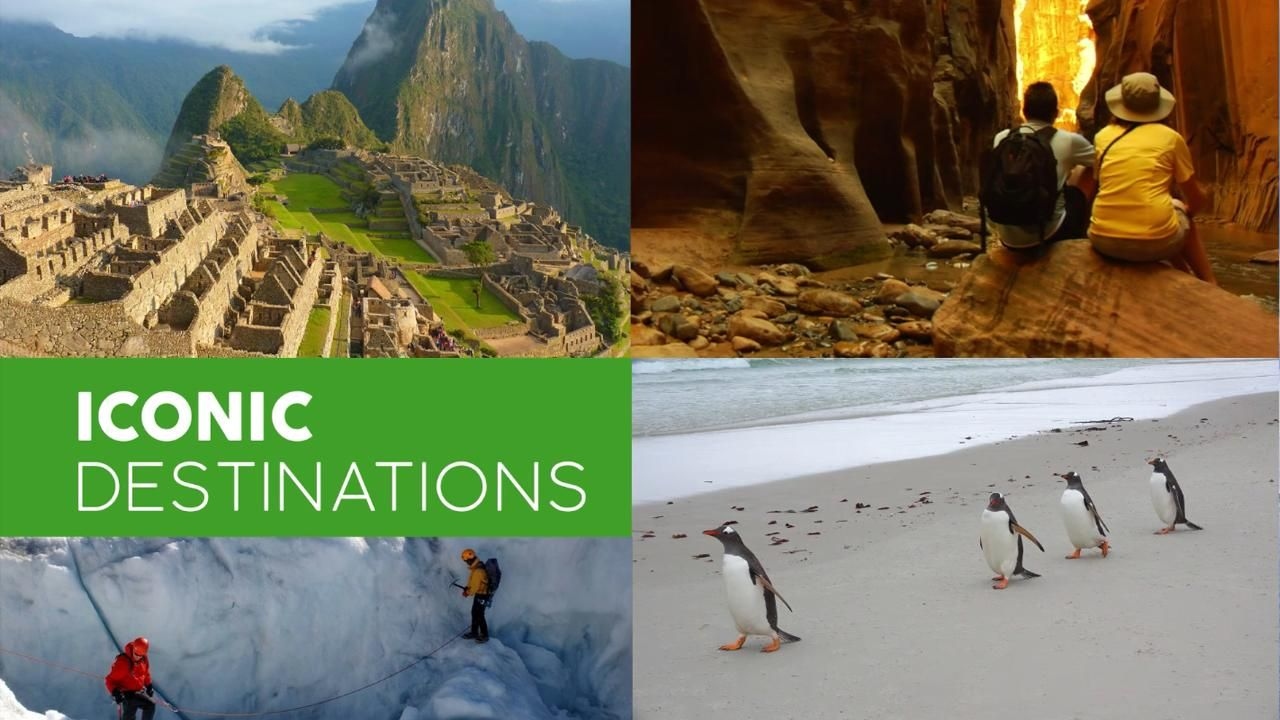 Explore the most iconic and remote destinations in a whole