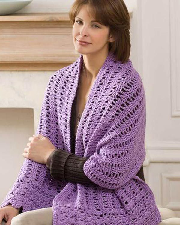 Best Free Crochet » Free Friendship Shawl Crochet Pattern from ...