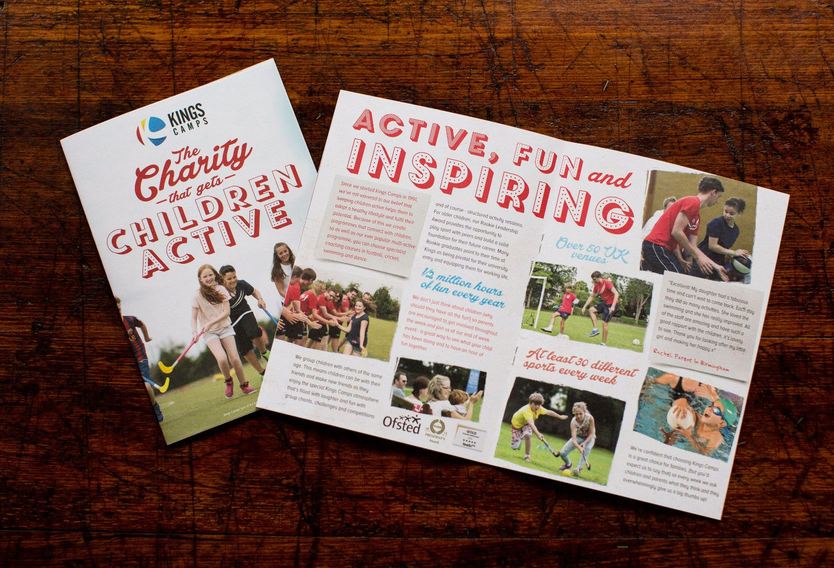 Brochure Design Children S Charity Design By Www Thenuagency Com Brochure Design Web Design Agency Web Design