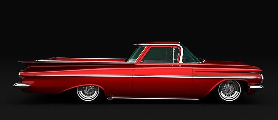The First Generation 1959 Chevy El Camino Produced In Response To
