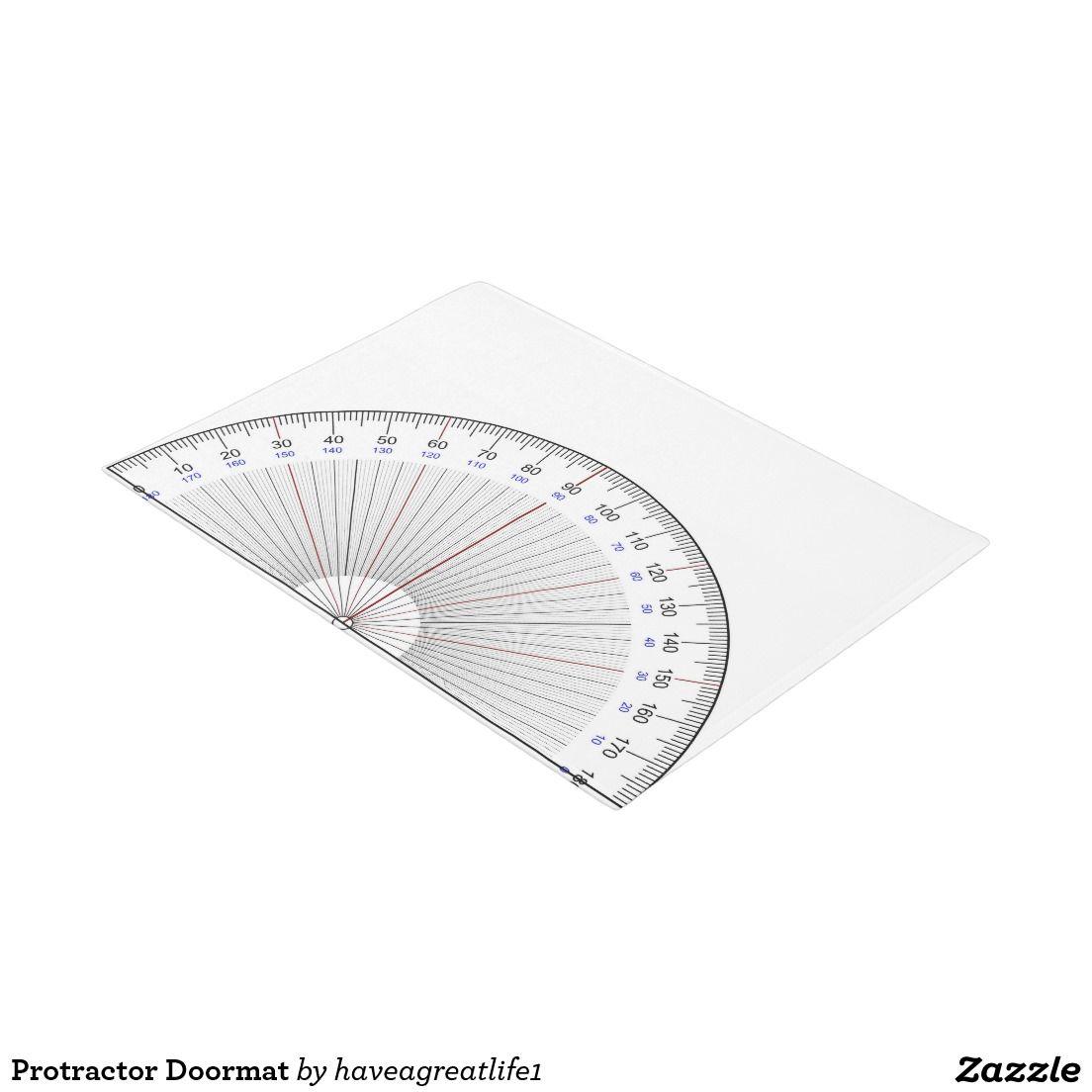 Protractor Doormat