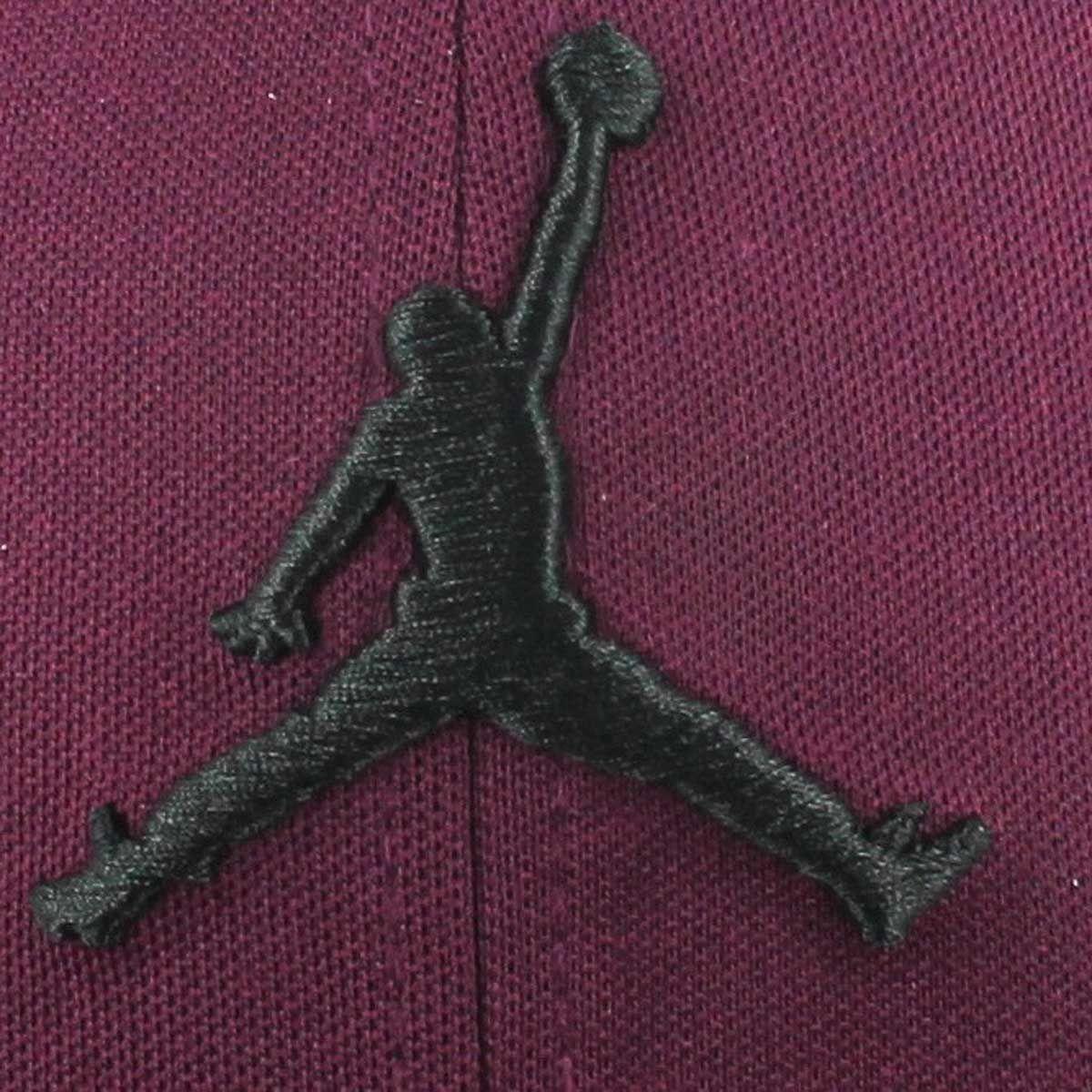 44afcbeda JORDAN JUMPMAN Snapback Cap Bordeaux/Black   Jordan swag   Jordan ...