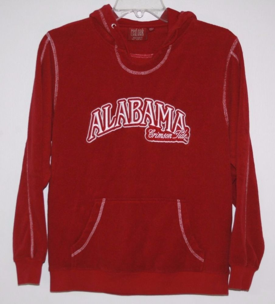 Red Oak Alabama Crimson Tide Terry Cloth Hoodie Medium M Alabama Crimson Tide Crimson Tide Alabama Crimson [ 1000 x 904 Pixel ]