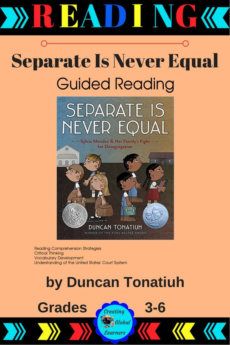 separate is never equal guided reading fabulous creations rh pinterest com American Flag United States of America