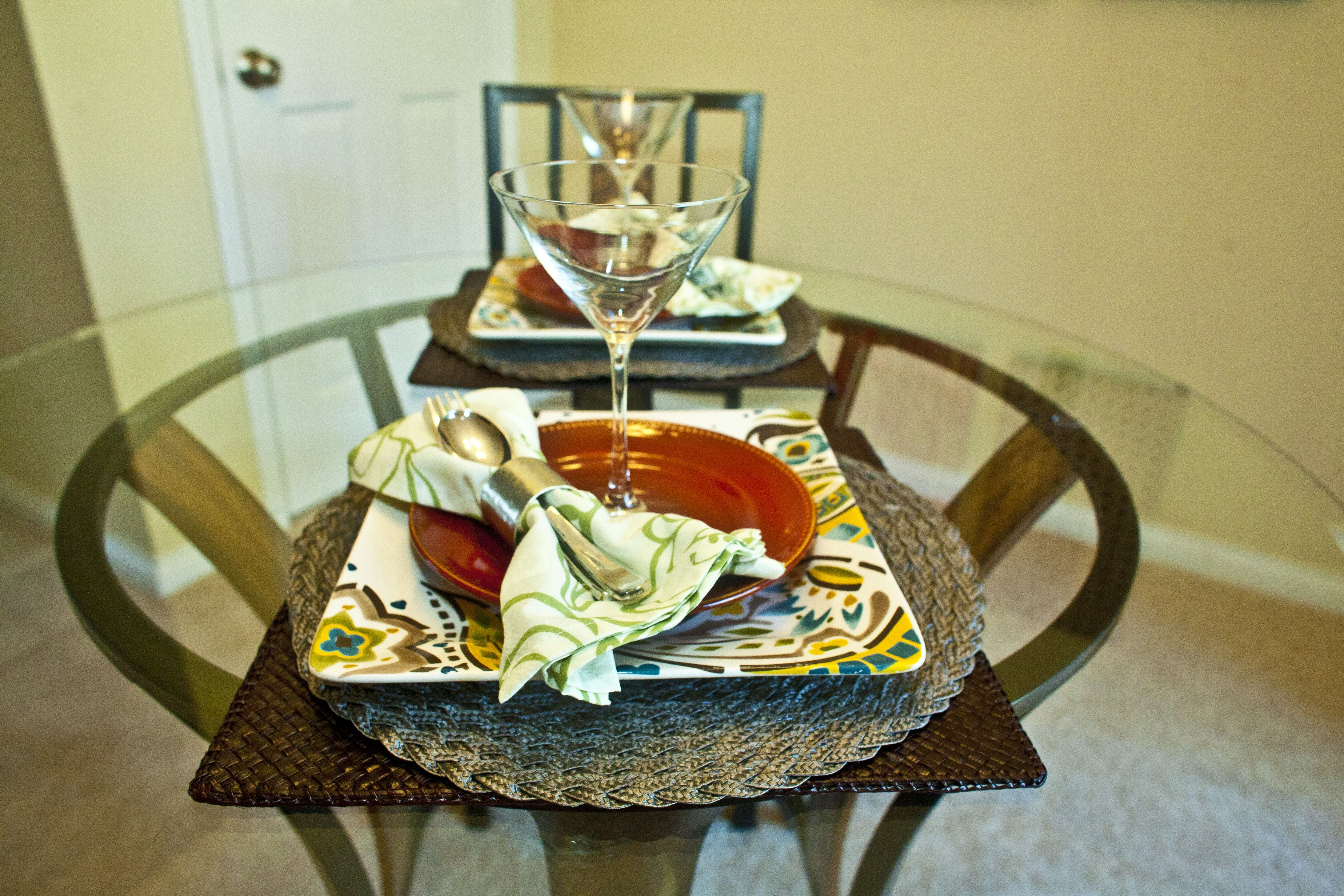 Home staging dining room place setting. If you\'re selling a home ...