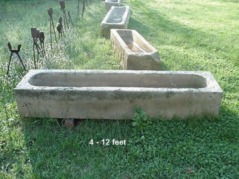 Stone Garden Planters And Troughs Antique stone trough sinks bath and kitchens antique stone trough image 2 workwithnaturefo