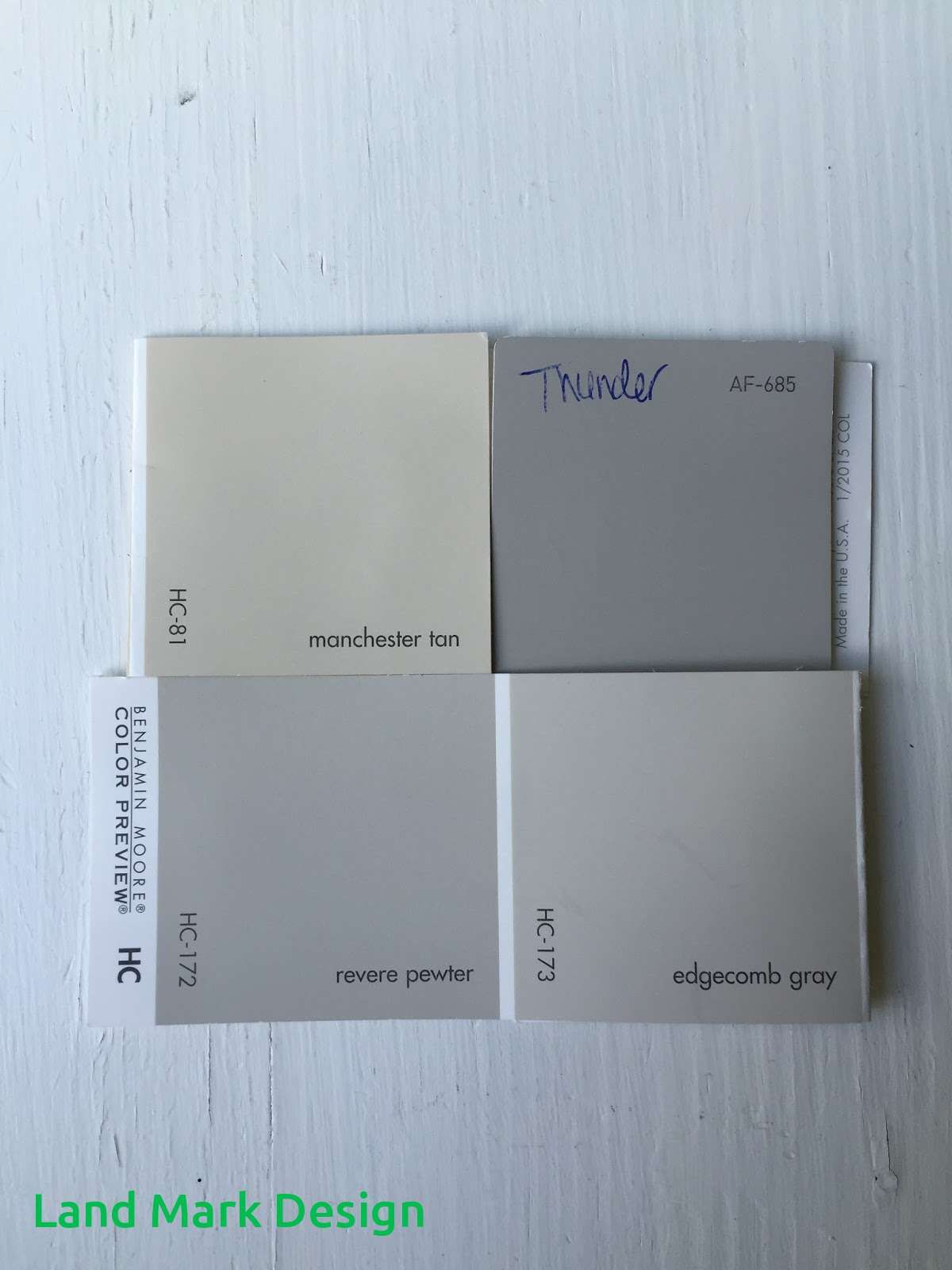 Benjamin Moore Thunder Or Revere Pewter Neutral Living Room