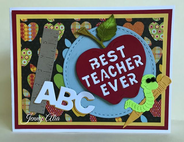 Cheery Lynn Designs Blog: Thanks Teacher by Jenny Alia