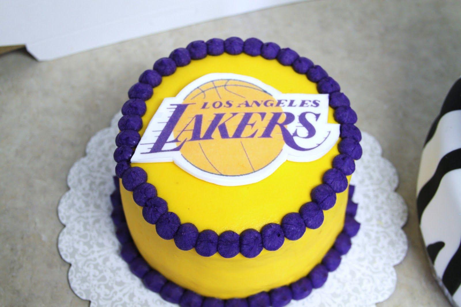 LA Lakers Birthday Cakes