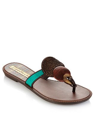 9a218fbd097 Kira+green+slip-on+sandals+by+Grendha+by+Shakira+on+secretsales.com ...