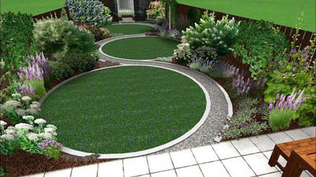 Enter The World Of Landscape Garden Designs Topsdecor Com In 2020 Circular Garden Design Garden Design London Back Garden Design
