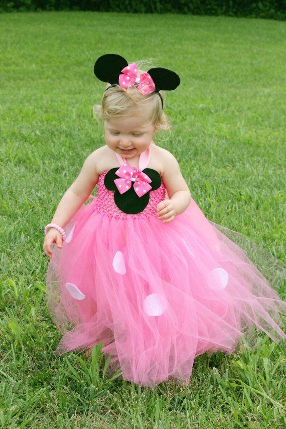 Buenísima idea para hacer un vestido inspirado en Minnie pero que no ...